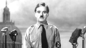 چارلی چاپلین نینگ اۉلمس و سۉلمس خطابه سی، انتقاد بوگون لیک نازی لرگه