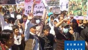Afghanistan: brutale repressione di una protesta pacifica