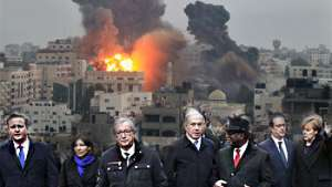 رهبران حامی تروریزم اشک تمساح میریزند