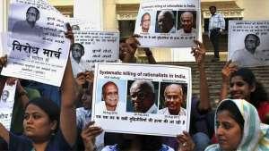 اعتراض روشنفکران مبارز هند بر قتل دگراندیشان