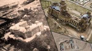 قصر زخمخورده دارالامان سمبول دهشت تنظیمی