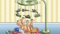 زرادخانه امریکا در دست طفلک بدخو