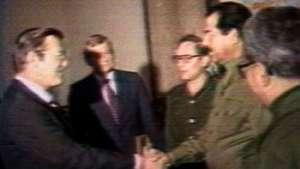 نقش امریکا در کاربرد سلاح های کیمیاوی توسط صدام حسین