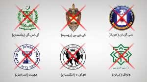 نقش جنایتکارانه سازمانهای بزرگ استخباراتی