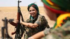 پیام مبارزان کورد از جبهه عفرین به حزب همبستگی بهمناسبت روز جهانی زن