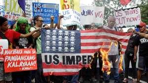 مردم فلیپین خواهان برچیدن پایگاههای نظامی امریکا اند