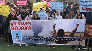 SPA Gathering Condemning the Brutal Attack of Turkey's Fascist Government on Rojava