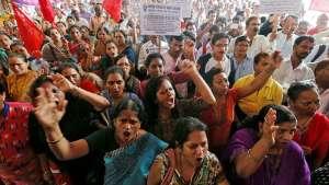 بزرگترین اعتصاب کارگری جهان علیه فقر و ستم در هند