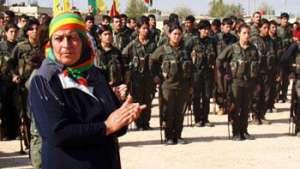 مقاومت جانانه زنان کوبانی درمقابل داعش