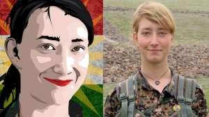 آنا کامپبل بریتانیایی جانش را فدای آزادی روژاوا نمود