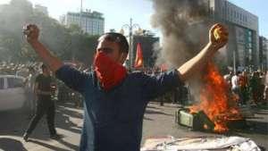 مردم ترکیه در برابر استبداد اخوانی برمیخیزند