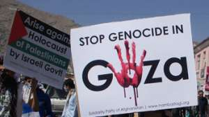 "The ""Gaza"" that is Afghanistan and Gaza, Palestine, Drown in Fire and Blood While the Oppressors Regale and Plunder!"