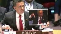 نماینده بولیویا در ملل متحد: امریکا با دروغگویی جنگ را توجیه میکند