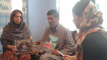 Martyr Ahmadullah's mother: I saw the light of my future in my innocent son's eyes