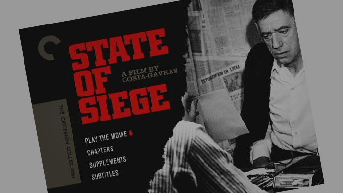 poster of state of siege movie