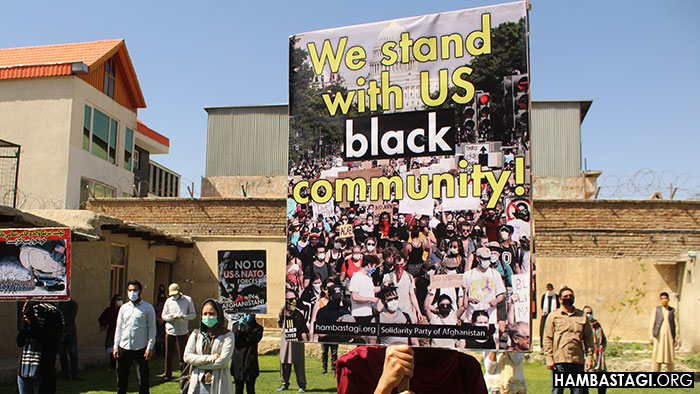 Solidarity Party of Afghanistan express solidarity with Black community of the USA