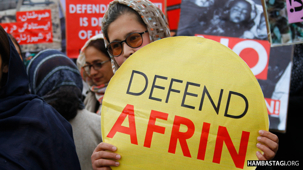 Hambastagi Joined World Afrin Day