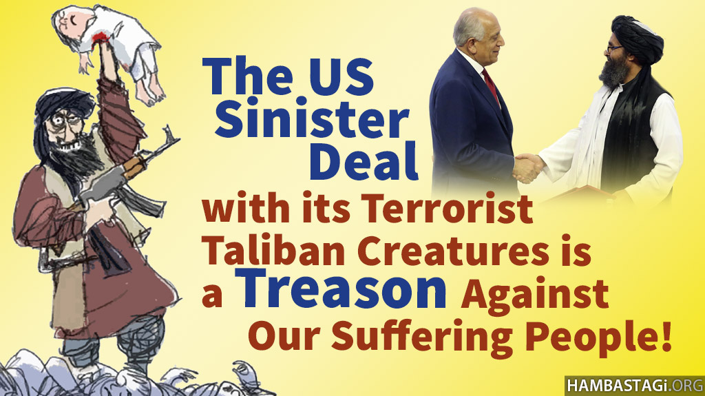 The nefarious deal with Taliban and the release of thousands of Taliban viruses is a national treason!