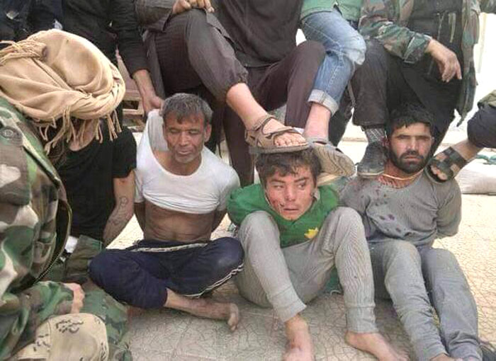 Afghans Arrested by Syrian Army
