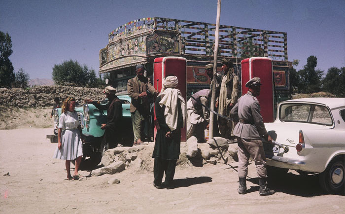 Tourists in Afghanistan in past