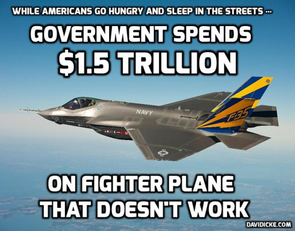 F35 a failed 1.5 trillion dollar project