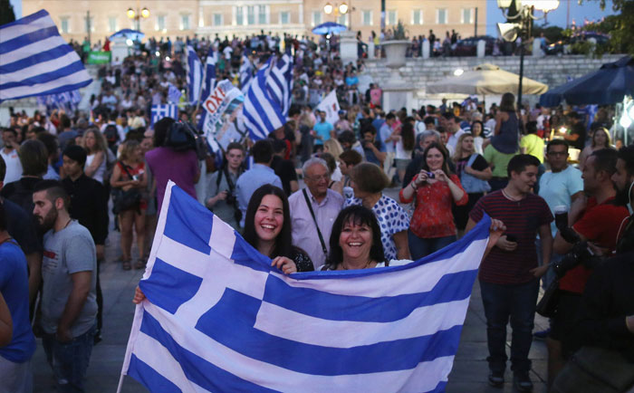 People of Greece say no to Austerity