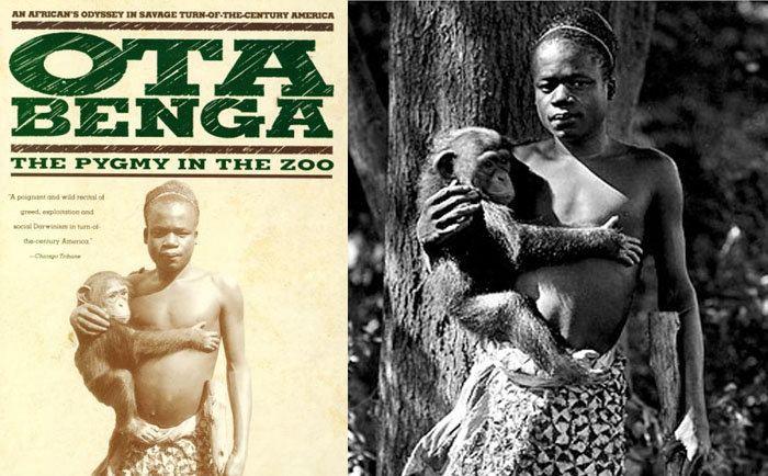 Ota Benga in the Zoo in USA