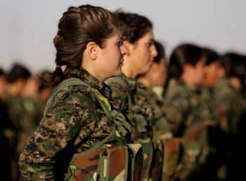 YPJ Female Fighter