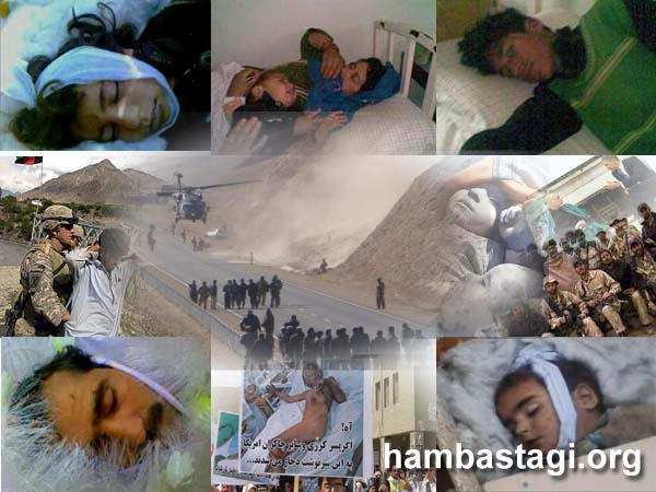 Snapshots of the atrocities of the criminal occupiers.